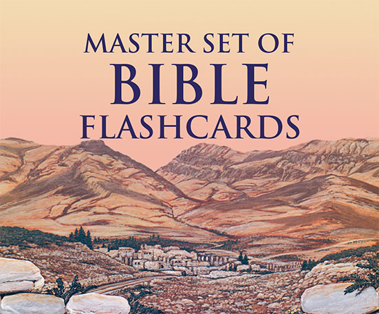Master Set of Bible Flashcards
